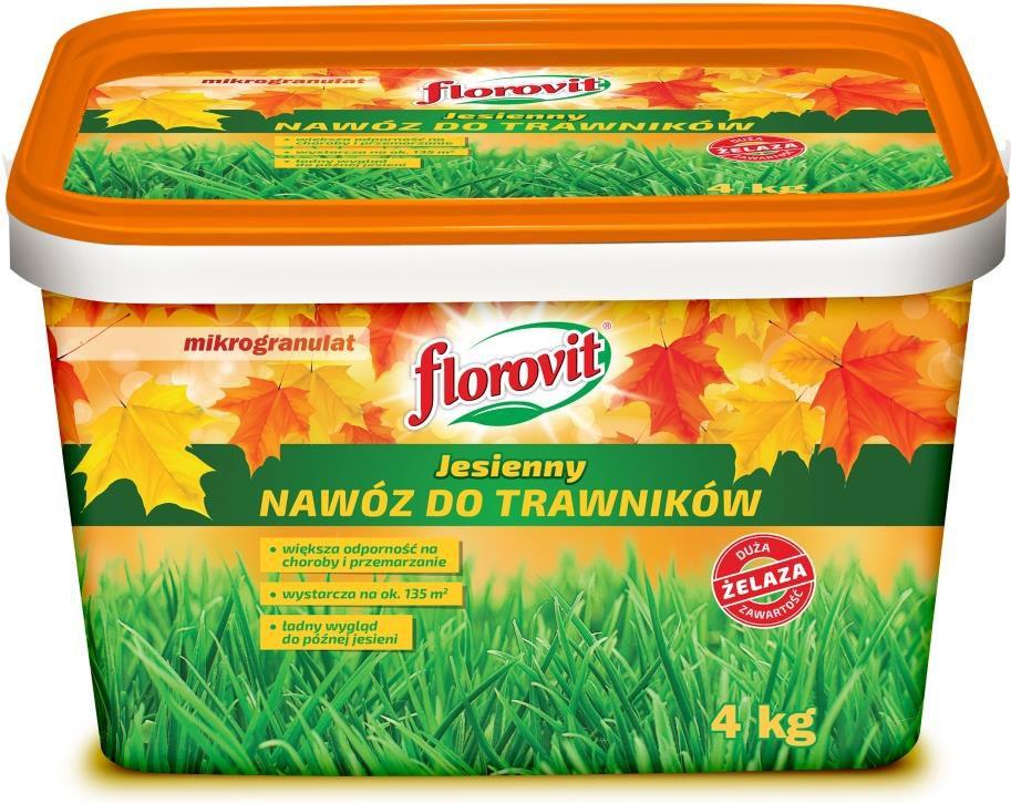 Florovit Nawoz do trawnikow jesienny 4kg 7898