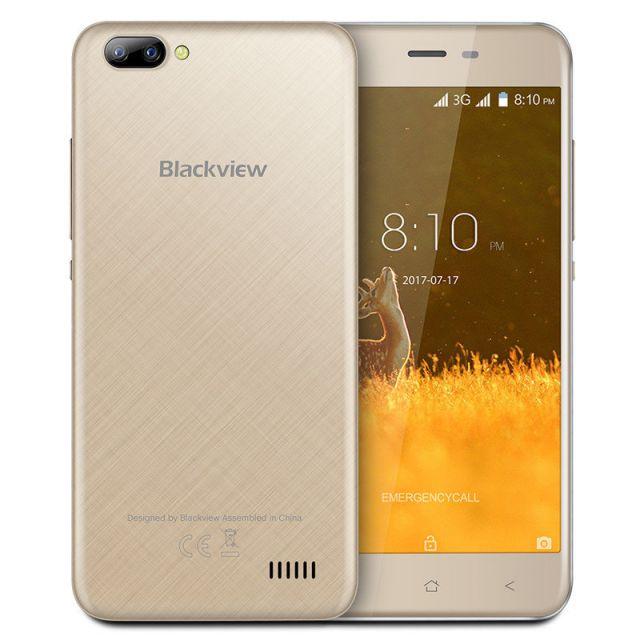 Blackview A7  Champagne Gold Mobilais Telefons