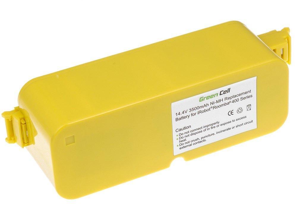 Green Cell for iRobot Roomba 400 410 4000 4905 14.4V 3.5Ah aksesuārs putekļsūcējam