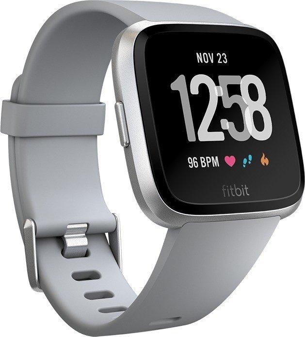 Fitbit Versa grey/silver Viedais pulkstenis, smartwatch