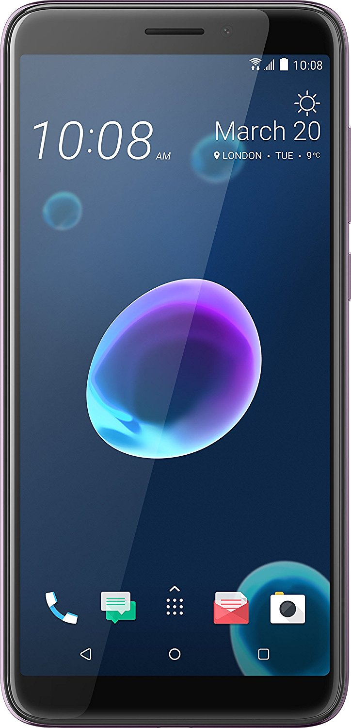 HTC Desire 12 - 5.5 - 32GB - Android - silver Mobilais Telefons