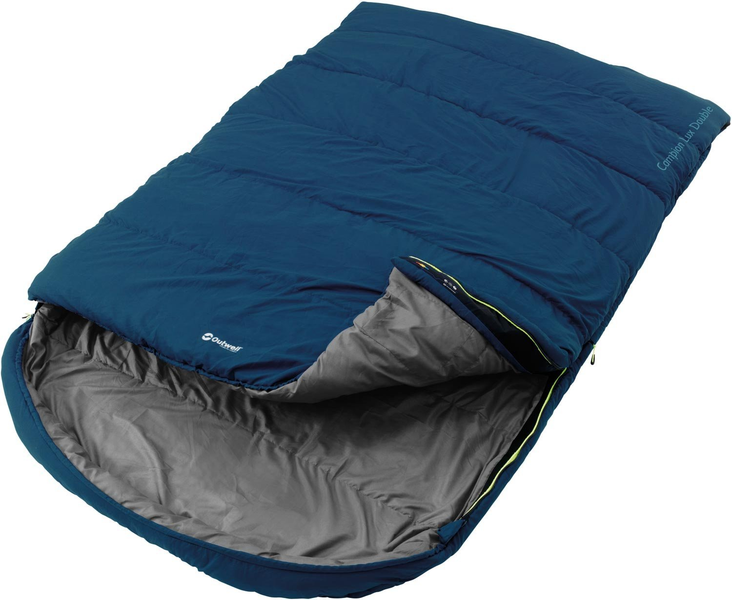 Outwell Campion Lux double sleeping bag blue guļammaiss