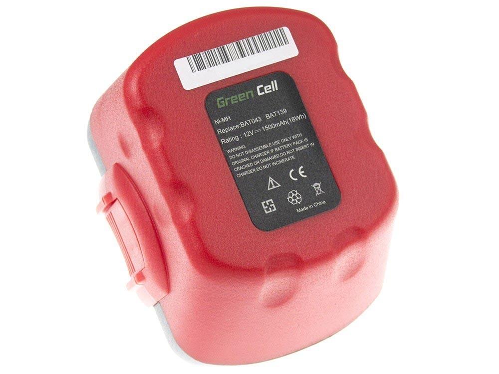 Green Cell Power Tool Battery for Bosch O-Pack 3300K PSR 12VE-2 GSB 12 VSE-2 Baterija