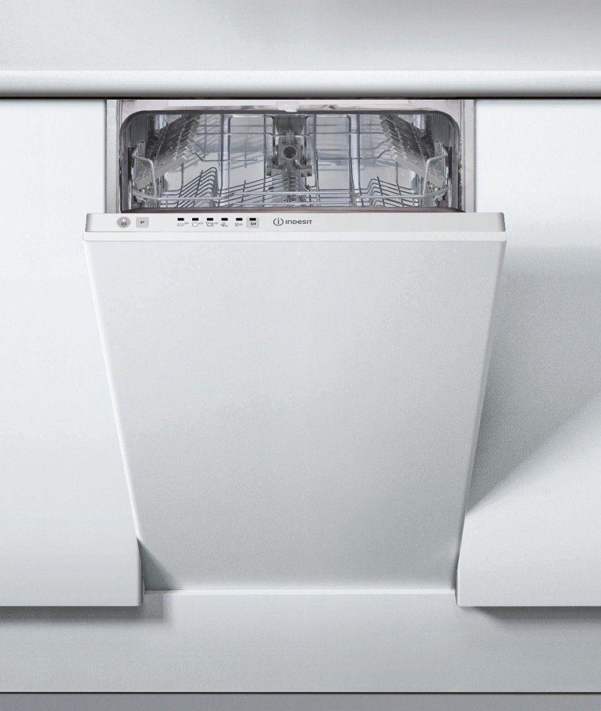 Zmywarka Indesit DSIE 2B10 (szer. 44,8cm; Panel zamkniety) DSIE 2B10 Iebūvējamā Trauku mazgājamā mašīna
