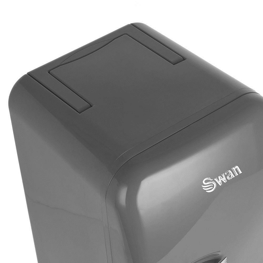 Refrigerators cool box Swan RETRO SRE10010GRN (17 l; gray color)