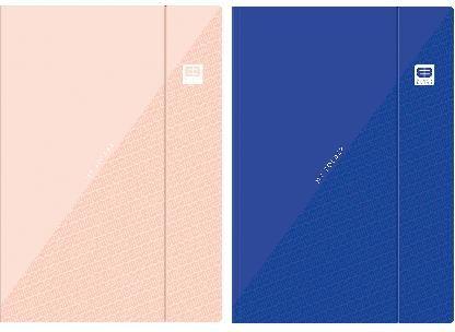 Interdruk Teczka z gumka A4 + B&B Pastel (10szt) 274527