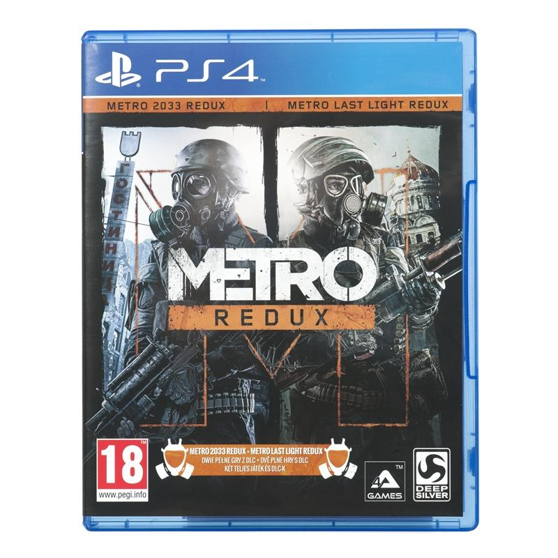 Metro Redux PS4 Game (BOX version; PL - cinema; from 18 years old)