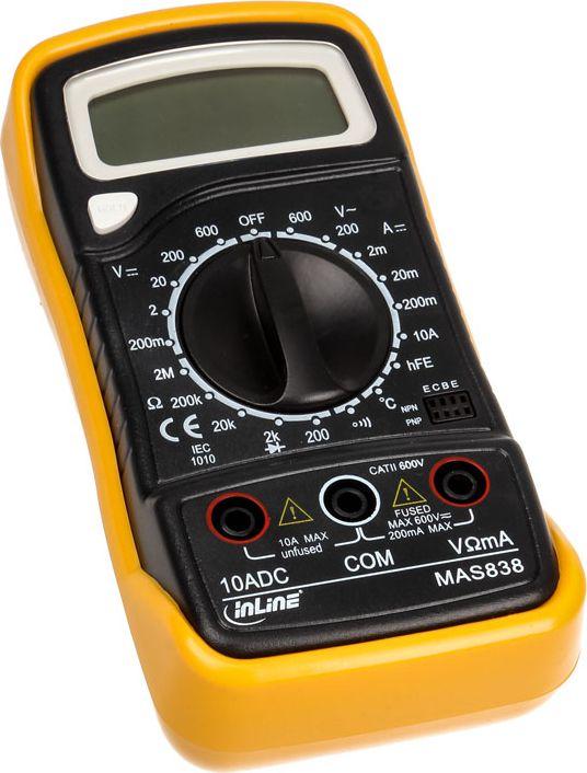 InLine 43117 Digital multimeter Multimeter (43117) Darbarīki