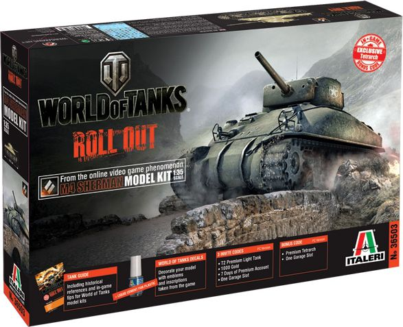 World of Tanks M4 Sherman bērnu rotaļlieta