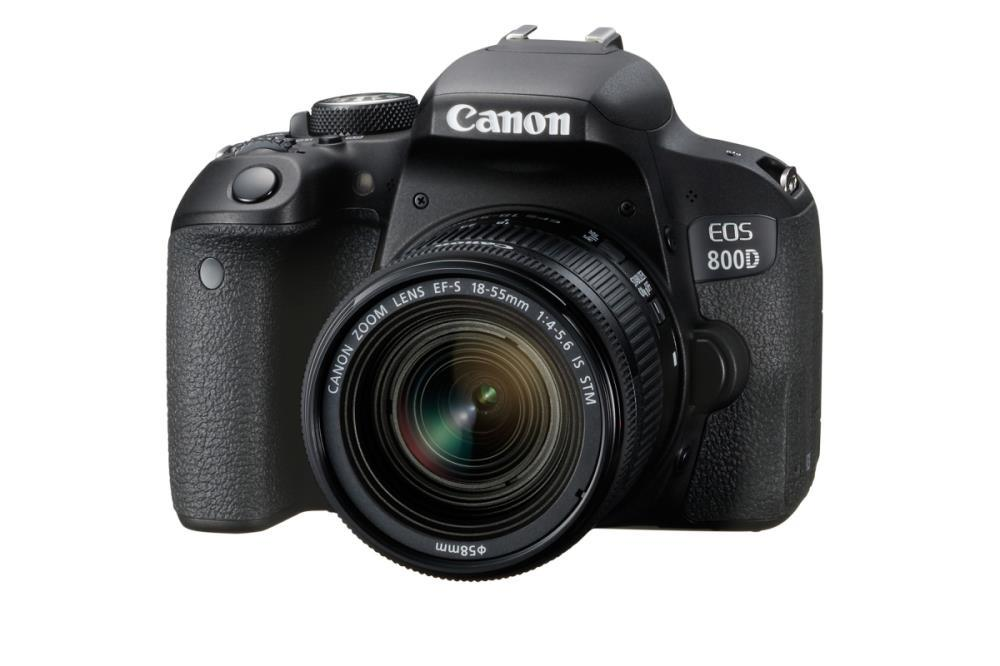 CAMERA DSLR EOS 800D KIT/18-55 IS STM 1895C008 CANON 1895C008 Spoguļkamera SLR