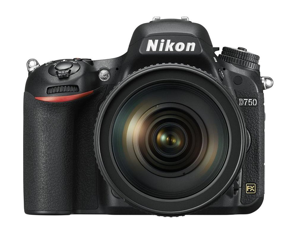 CAMERA DSLR 24MP D750 BLK KIT/W/24-120VR VBA420K0026 NIKON VBA420K002 Spoguļkamera SLR