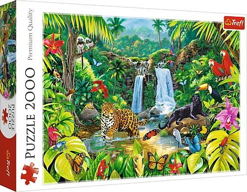 TREFL Puzzle 2000 elements - Tropical forest puzle, puzzle