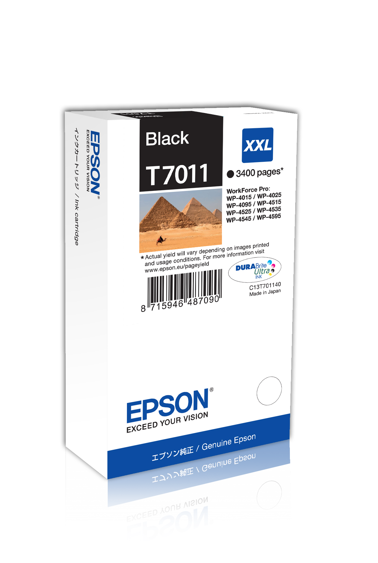 EPSON Ink Cartridge Black XXL WP4000 kārtridžs