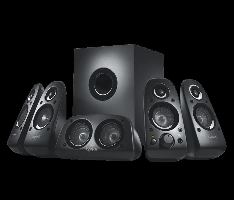 Logitech Z506 5.1 ( Black ) datoru skaļruņi
