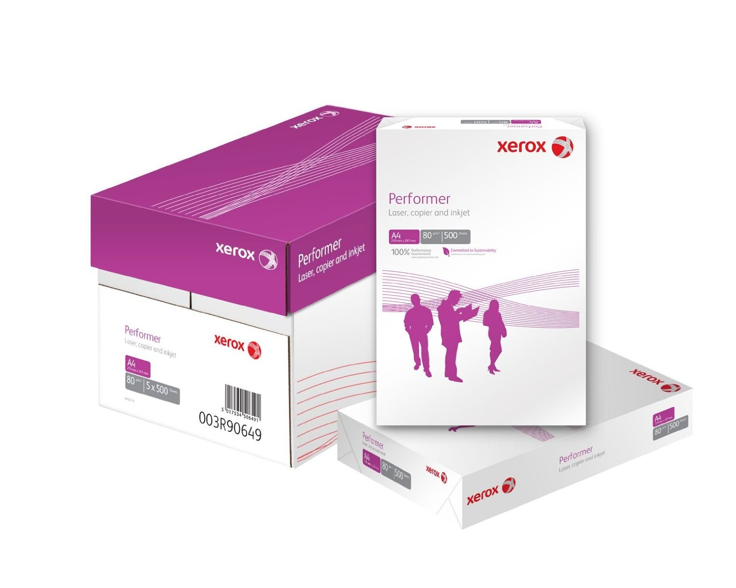 XEROX Double A Premium Paper (A class), 500 pages White, A4, Copy and Printer paper, 80 g/m papīrs