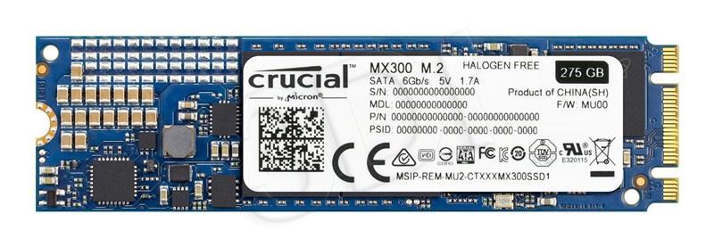 Crucial SSD MX300 275GB M.2 SSD disks