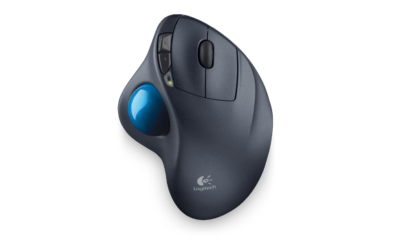 Logitech M570 Wireless Trackball Datora pele