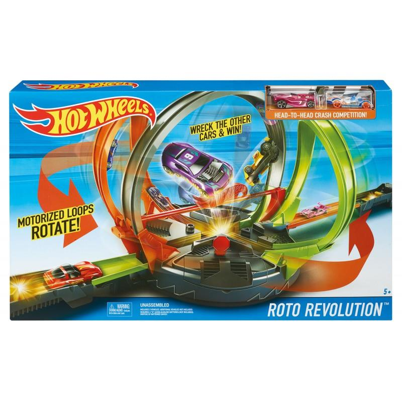 Hot Wheels Roto Revolution Track Set | FDF26