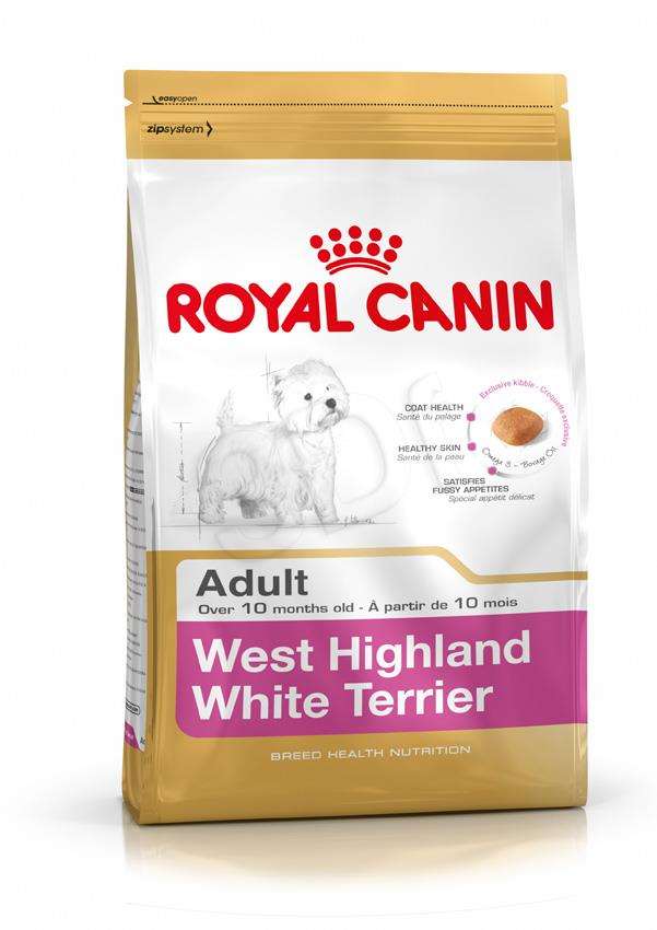 Royal Canin West Highland White Terrier Adult 3 kg barība suņiem