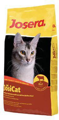 JOSERA CAT 18kg JOSICAT BEEF 18KG kaķu barība