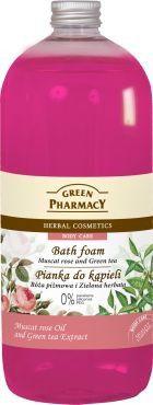 Green Pharmacy Pianka do kapieli Roza pizmowa & zielona herbata - 811282 811282