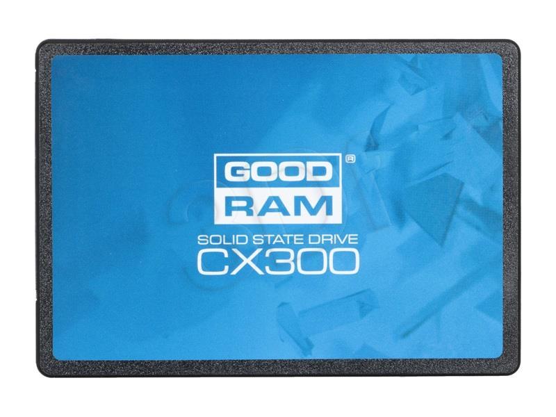 GOODRAM SSD CX300 120GB 2.5'' SATA3, 555/540 MB/s, IOPS 85/81K SSD disks
