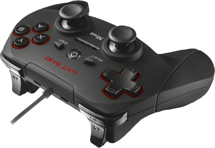 Trust GAMEPAD USB GXT540 /PC&PS3/ spēļu konsoles gampad