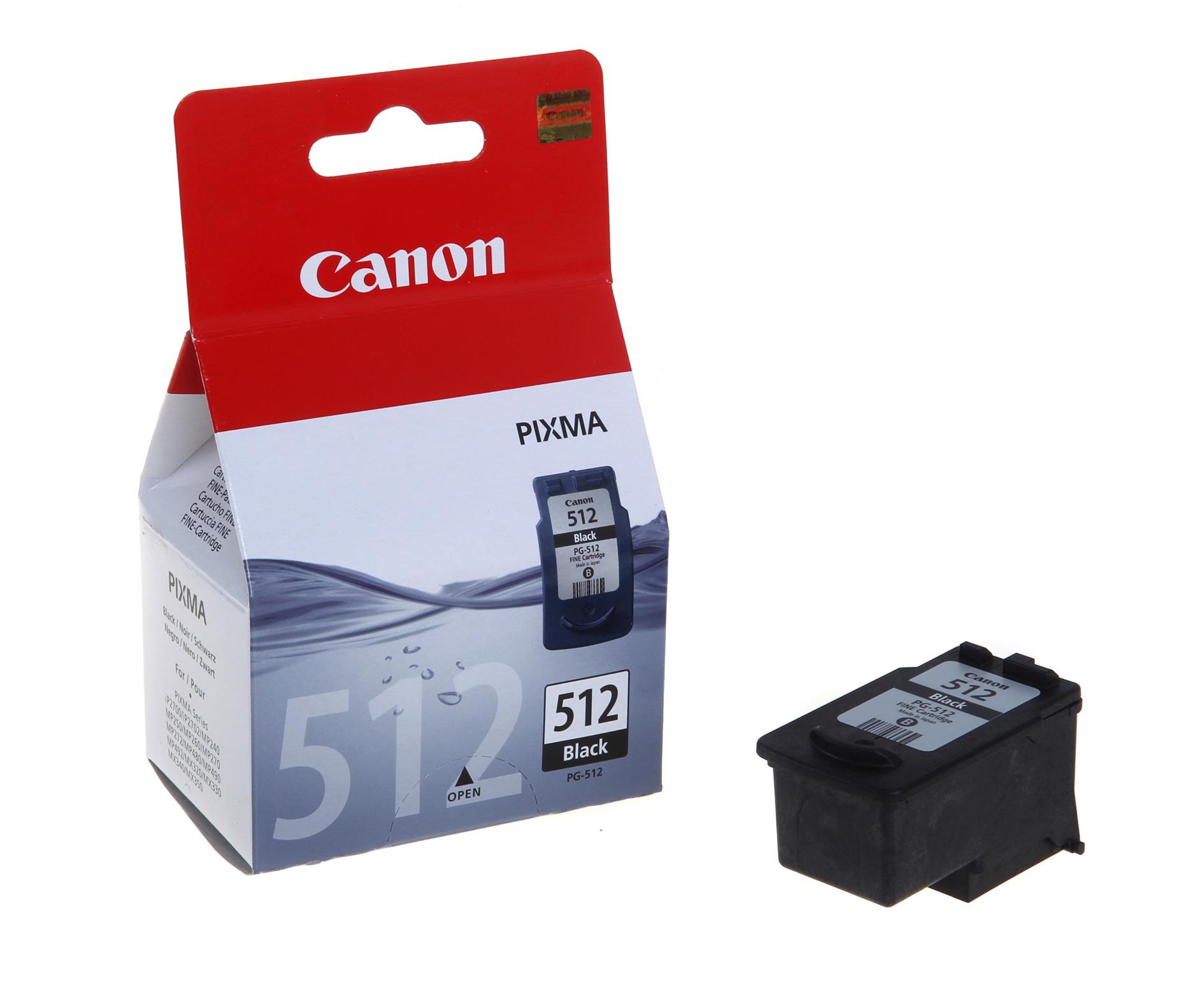 Canon PG-512 Black kārtridžs
