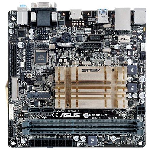 MB Intel ASUS N3150I-C BRASWELL pamatplate, mātesplate