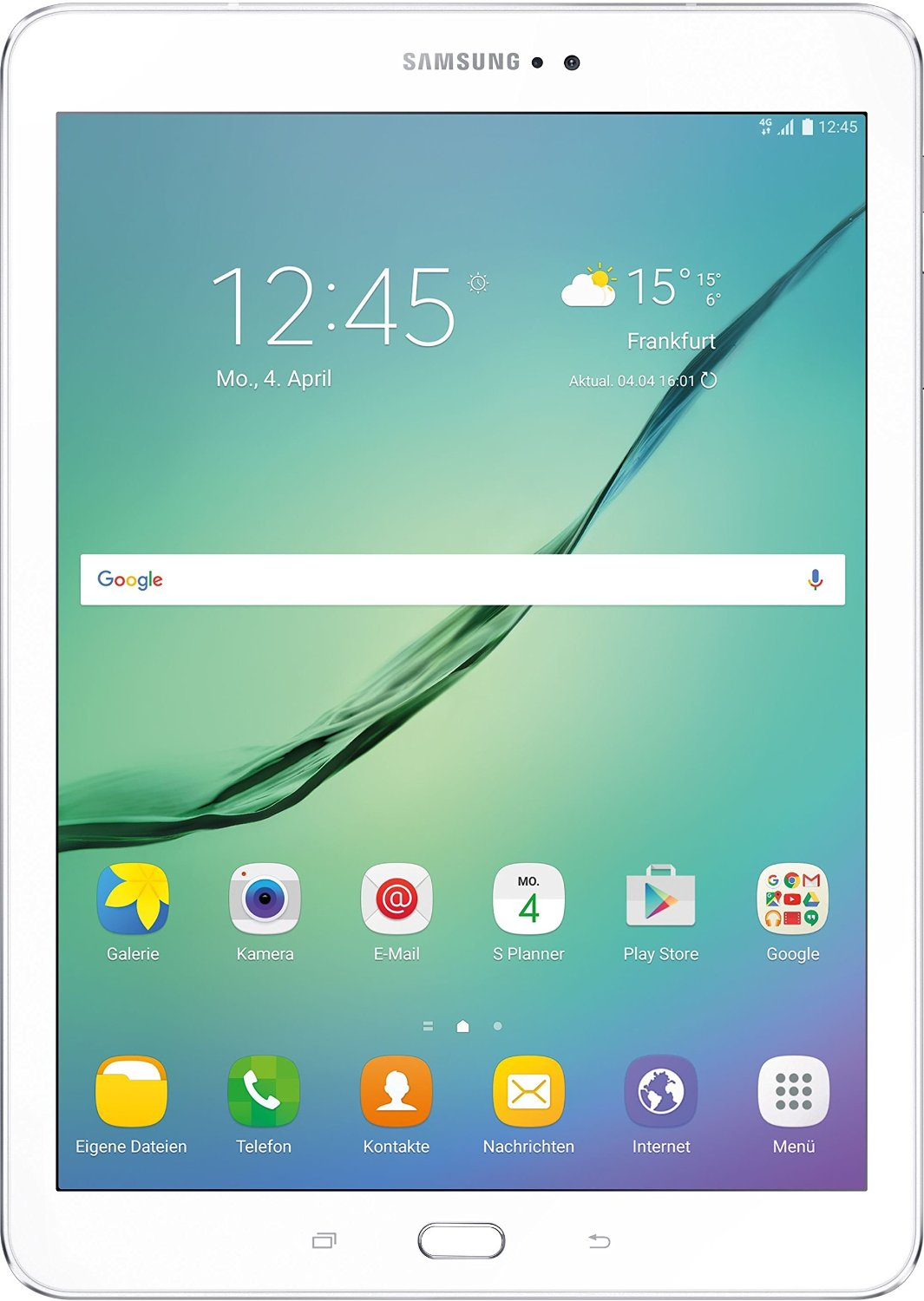 Samsung Galaxy Tab S2 9.7 T819N LTE 32GB Android 6.0 Tablet PC weiss - DE Planšetdators