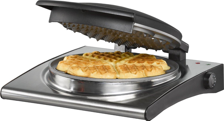 Rommelsbacher Waffle Iron WA 1000/E 1000W silver vafeļu panna