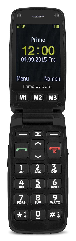 Primo 406 by Doro silver / black Mobilais Telefons