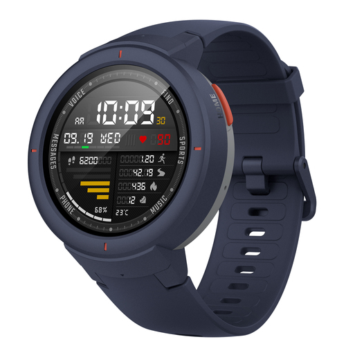 Xiaomi Amazfit Verge Smart Watch Blue Viedais pulkstenis, smartwatch