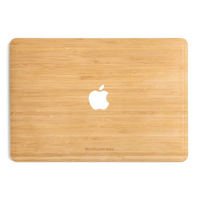 Woodcessories EcoSkin Apfel Macbook 13 Air & Pro bamboo
