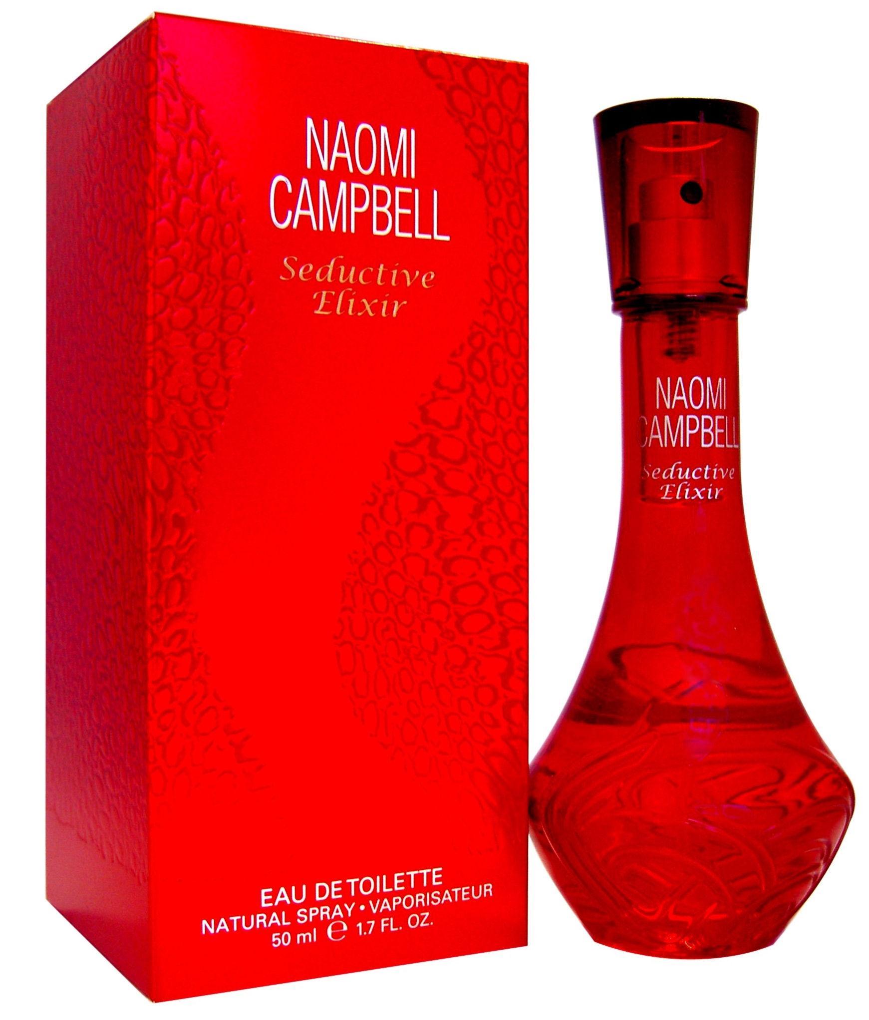 Naomi Campbell Seductive Elixir (EDT,Woman,50ml) T-MLX20676 Smaržas sievietēm