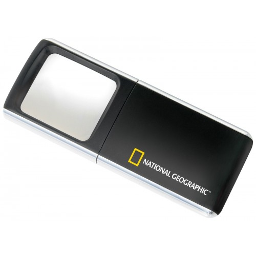 Bresser National Geographic 3x, 35x40mm palielinamais stikls ar izbidamu lecu (3x) 51459