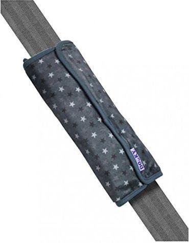 Xplorys Poduszka na pas bezpieczenstwa Dooky - Grey Stars (T-XP-126924) T-XP-126924 Bērnu sēdeklīšu aksesuāri
