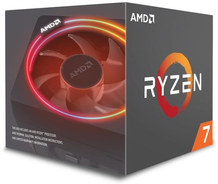 AMD Ryzen 7 2700X, Octo Core, 3.70GHz, 20MB, AM4, 105W, 12nm, BOX CPU, procesors