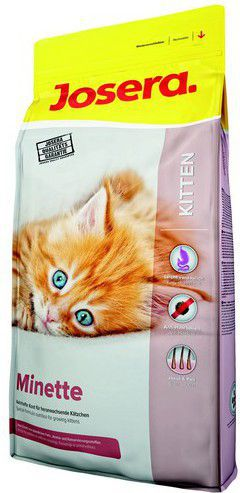 JOSERA CAT 10kg MINETTE KITTEN kaķu barība
