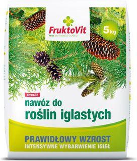 FruktoVit Nawoz do roslin iglastych PLUS 5kg 1054