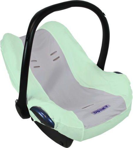Xplorys Pokrowiec do fotelika Dooky Seat Cover Mint/Grey (T-XP-126818) T-XP-126818 Bērnu sēdeklīšu aksesuāri