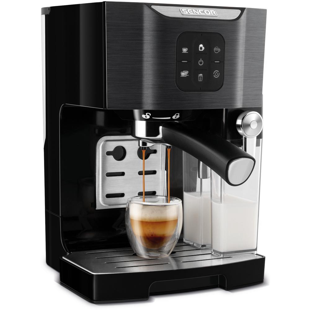 SENCOR Espresso un kapučīno pagatavotājs SES 4040 BK Kafijas automāts