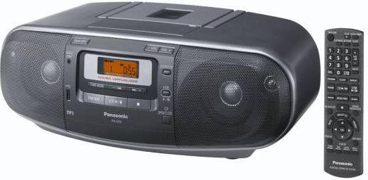 Radioodtwarzacz Panasonic RX-D55 AEG-K mūzikas centrs