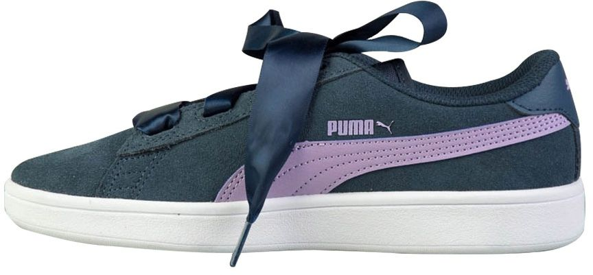 Puma Buty juniorskie Smash v2 Ribbon JR granatowe r. 38.5 (366003 03) 366003 03