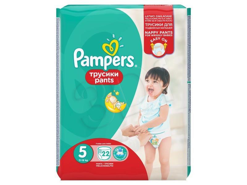 Pieluchomajtki PAMPERS 5 Junior 12-14kg 22szt 4015400672685