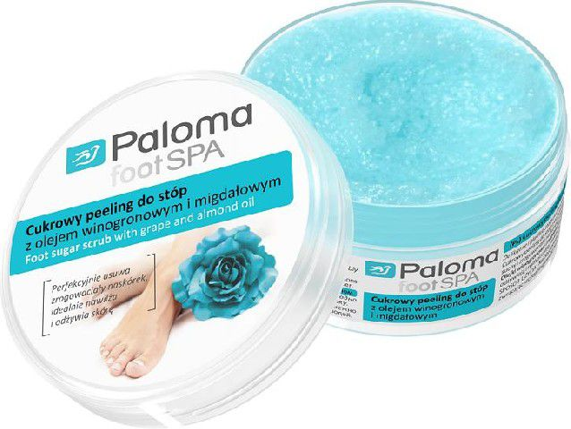 Paloma Foot Spa Cukrowy peeling do stop 125ml 0438132 Roku, pēdu kopšana
