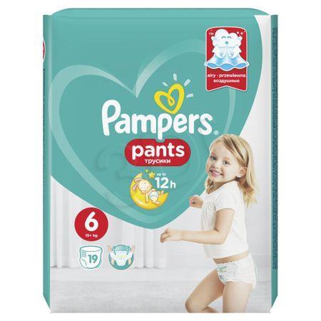 Pieluchomajtki PAMPERS 6 XL 19szt 4015400673378