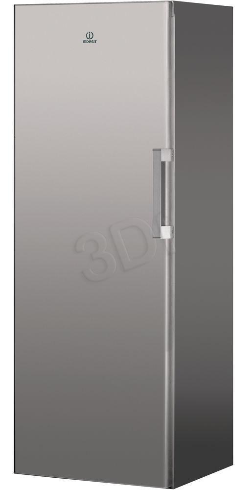Freezer Indesit  UI6 1 S.1 (Freezers with drawers; 595 mm / 1670 mm / 645 mm; Inox; Class A+) Vertikālā Saldētava