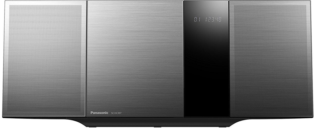 Panasonic SC-HC397EG-K black mūzikas centrs