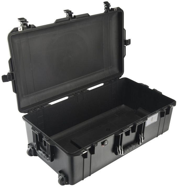 Peli Air Skrzynia transportowa wodoodporna bez pianki 1615 czarna (016150-0010-110E) 016150-0010-110E